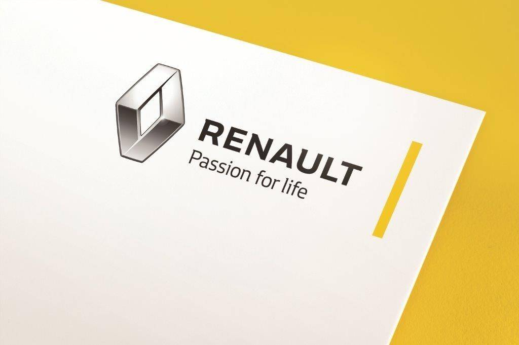 nouveau logo renault un nouveau style pour le constructeur fran ais. Black Bedroom Furniture Sets. Home Design Ideas