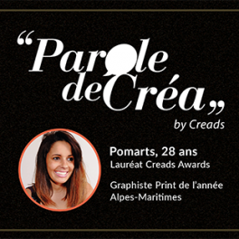 Paroles de Pomarts, 28 ans, Graphiste