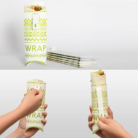 Packaging Alimentaire Street Food Origami