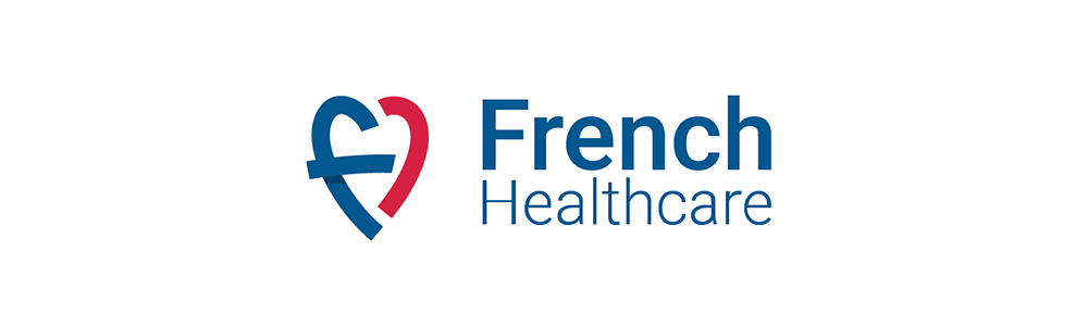 CREADS crée le logo French Healthcare.