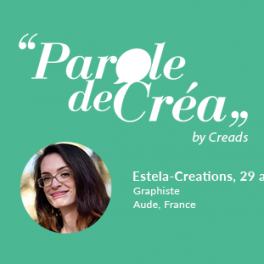 Paroles d'Estela-Creations, 29 ans, Graphiste freelance