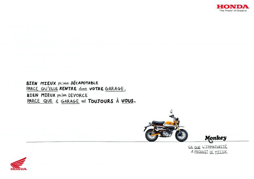 Honda campagne print agence creads