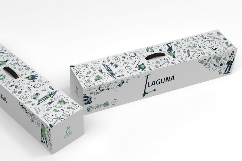 packaging laguna agence creads