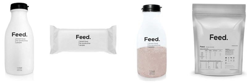 packaging minimaliste feed agence creads