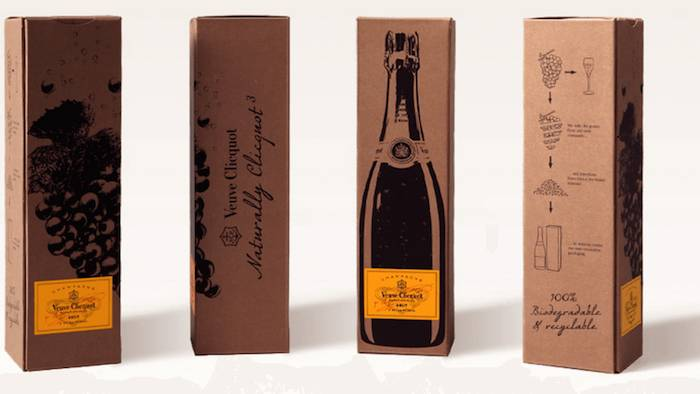 Emballage innovant veuve clicquot agence creads