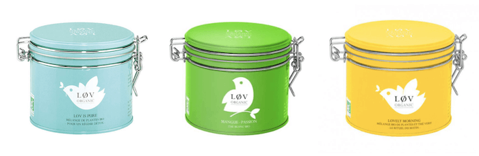 boite packaging personnalisable lov organic agence creads
