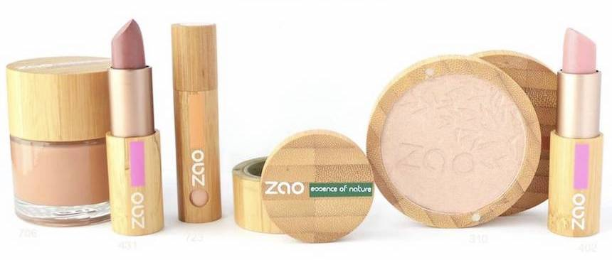 Maquillage packaging original Zao agence creads