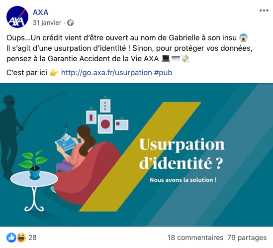 campagne pub facebook agence creads