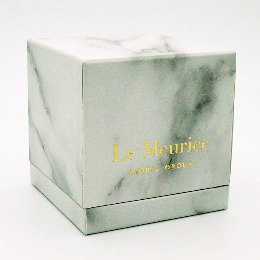 Packaging alimentaire luxe Cédric grolet agence creads